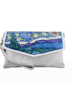 Hand painted bag - The Starry Night by Van Gogh