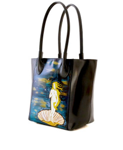 Hand-painted bag - The Birth of Venus by Botticelli
