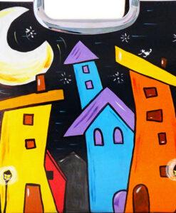Borsa – Cartoon City Night