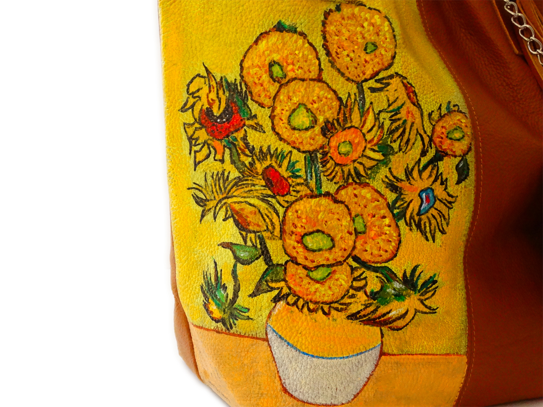 Borsa – I girasoli di Van Gogh