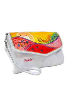 Handpainted bag - Freedom