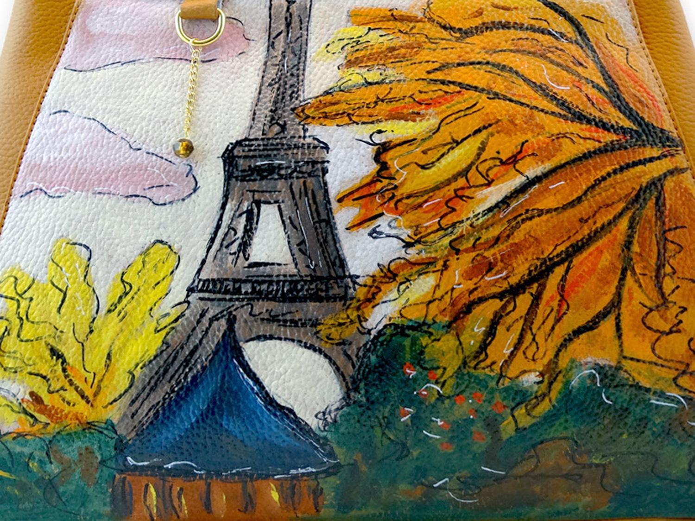Borsa dipinta a mano – Paris