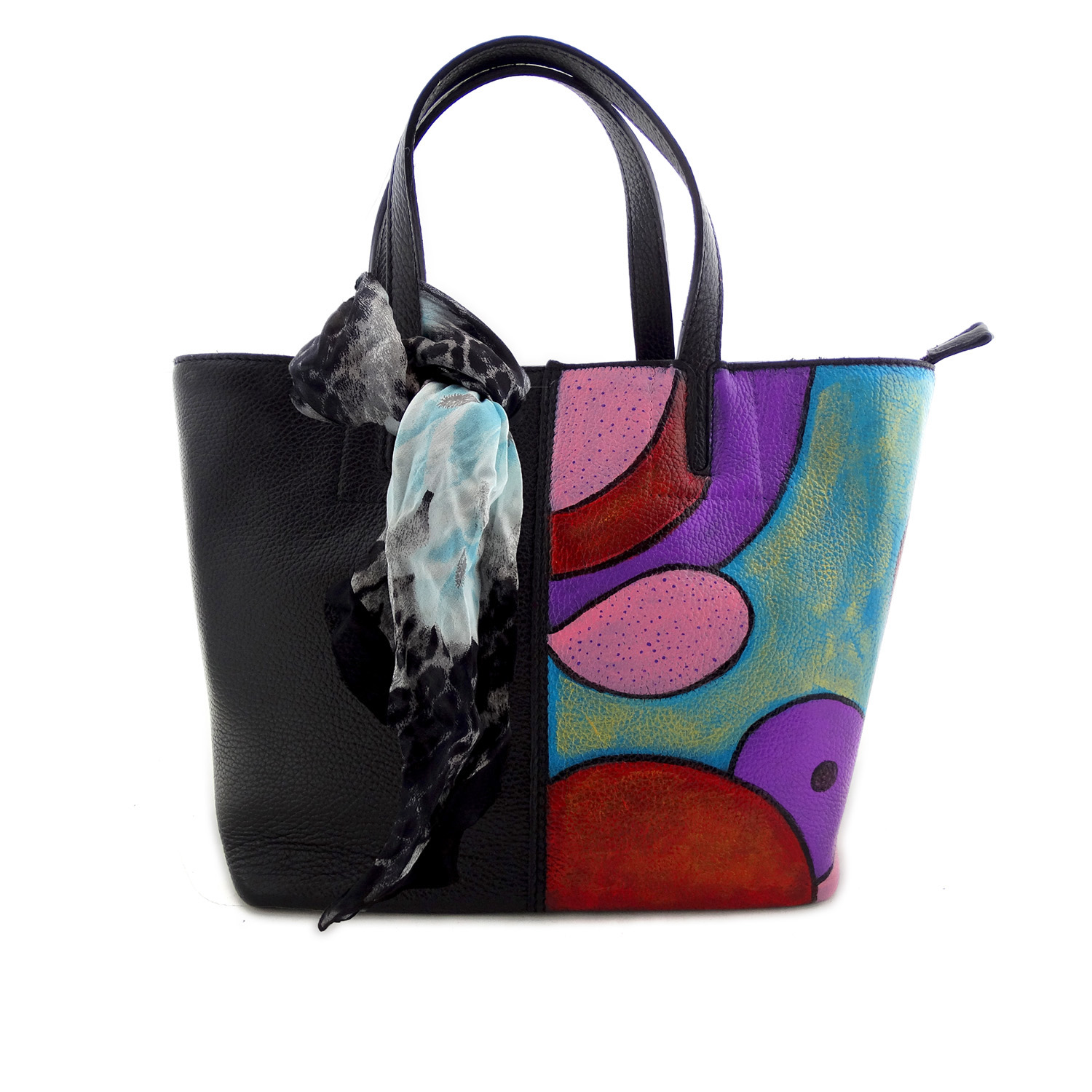 Hand-painted bag - Sweet confusion