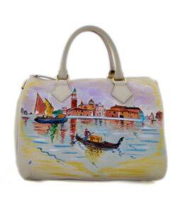 Borsa dipinta a mano – Venice