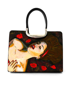 Hand-painted bag - Lust