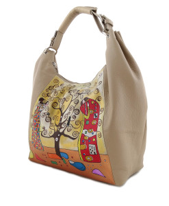 Hand-painted bag - The Tree of Life by Klimt