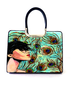 Hand-painted bag - Pride