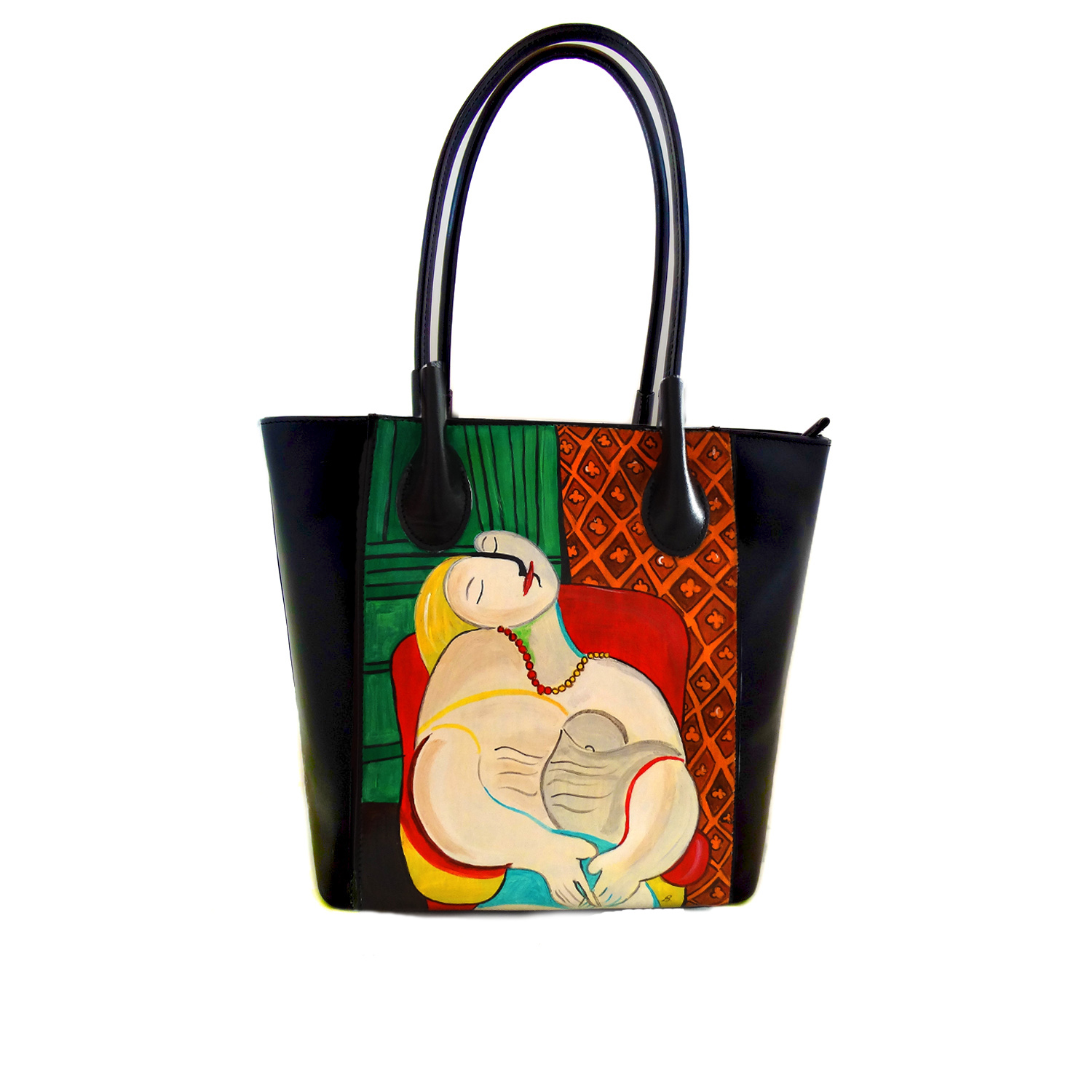 Handpainted bag - The dream by Picasso