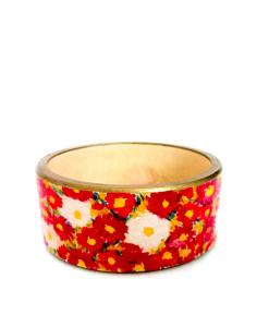 Bracciale dipinto a mano – Campo di fiori di Schiele