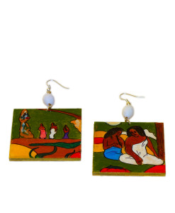 Hand-painted Jewelry - Playful by Gauguin