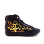 Scarpe sneakers dipinte a mano – L'albero della vita di Klimt