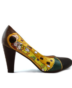 Décolletés dipinte a mano – Il Bacio di Klimt