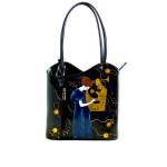 Borsa dipinta a mano – La musica di Klimt