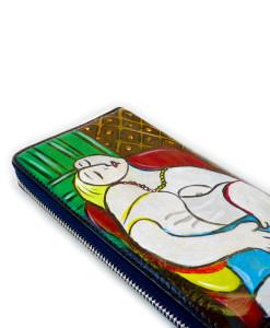 Portafoglio dipinto a mano – Il sogno di Picasso