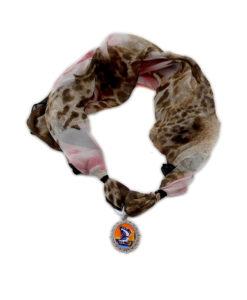 Foulard gioiello – Paesaggio con farfalle di Dalì