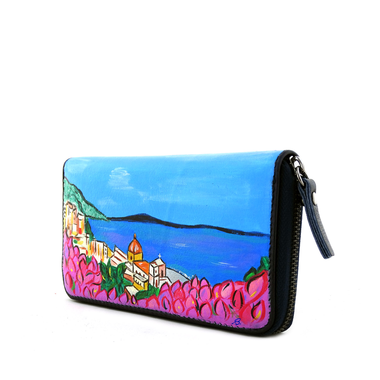 Portafogli dipinto a mano – Amalfi