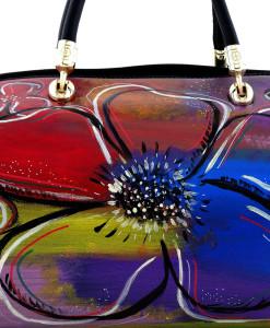 Borsa dipinta a mano – Big flowers