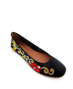 Hand-painted ballet flats - The Tree of Life by Klimt