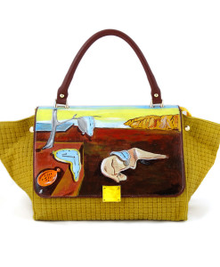 Hand painted bag - The Persistence of Memory by Dali