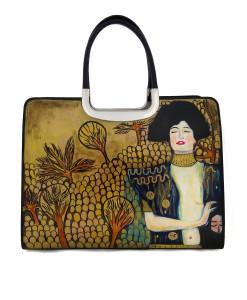Borsa dipinta a mano – Giuditta di Klimt