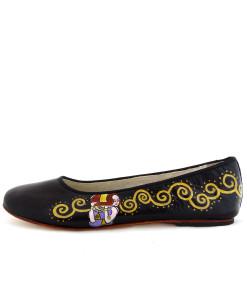 Ballerine dipinte a mano – L'Albero della vita di Klimt