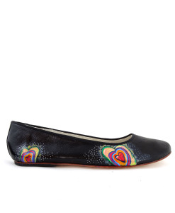 Hand-painted ballet flats - Love is all