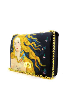 Hand painted bag - The Birth of Venus by Botticelli