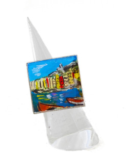 Hand-painted ring - Portovenere