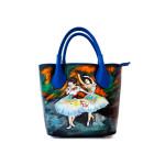 Borsa dipinta a mano – Le ballerine di Degas