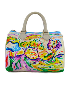 Hand-painted bag - Paysage à la Ciotat by Braque