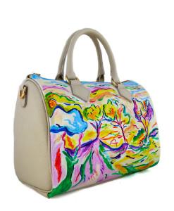 Borsa dipinta a mano – Paysage à la Ciotat di Braque