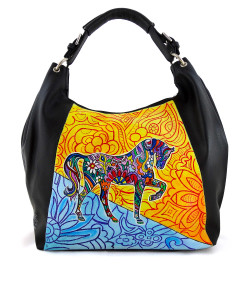 Hand-painted bag - Horse