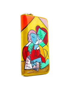 Hand painted wallet - Two Girls Reading by Picasso