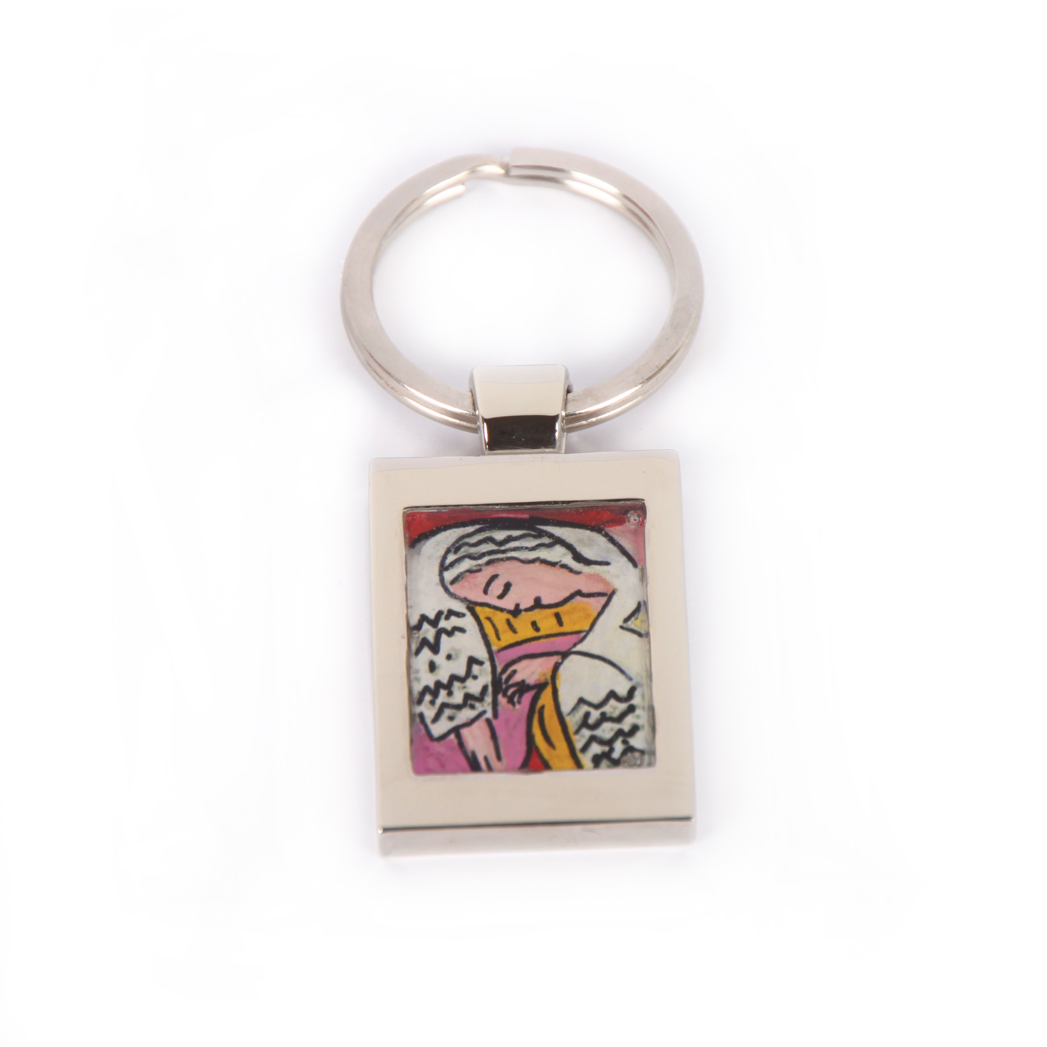 Hand painted keychain - The dream by Matisse