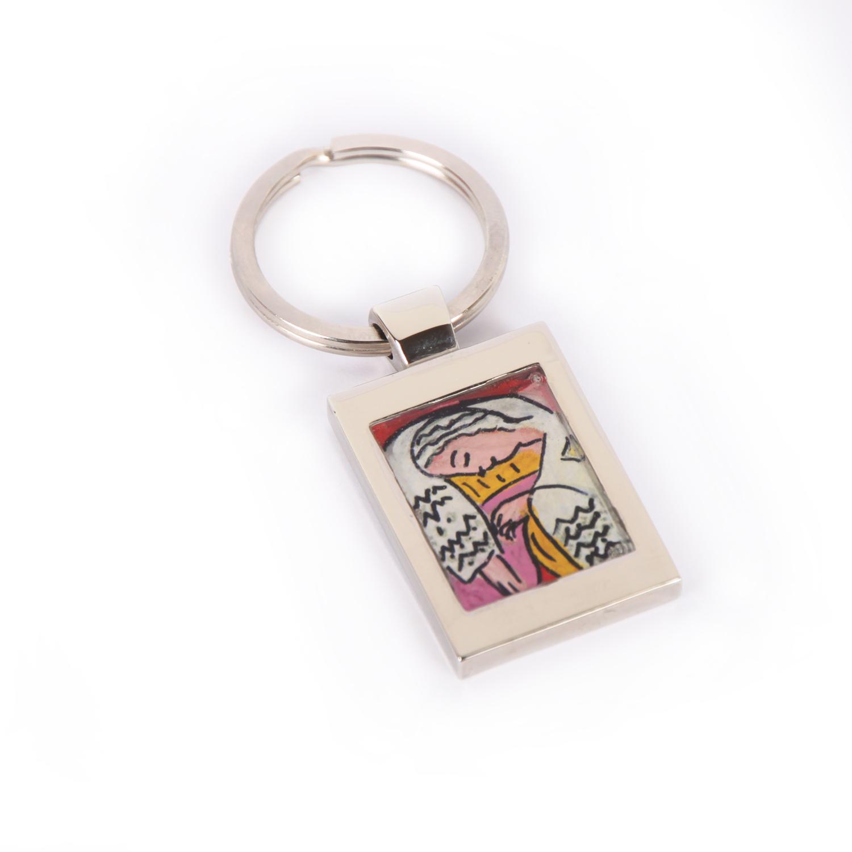 Portachiavi dipinto a mano Il Sogno di Matisse