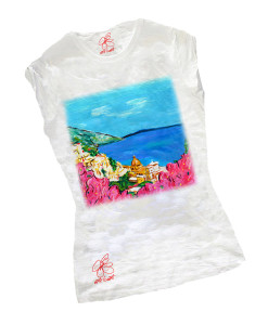 Hand-painted T-shirts - Amalfi