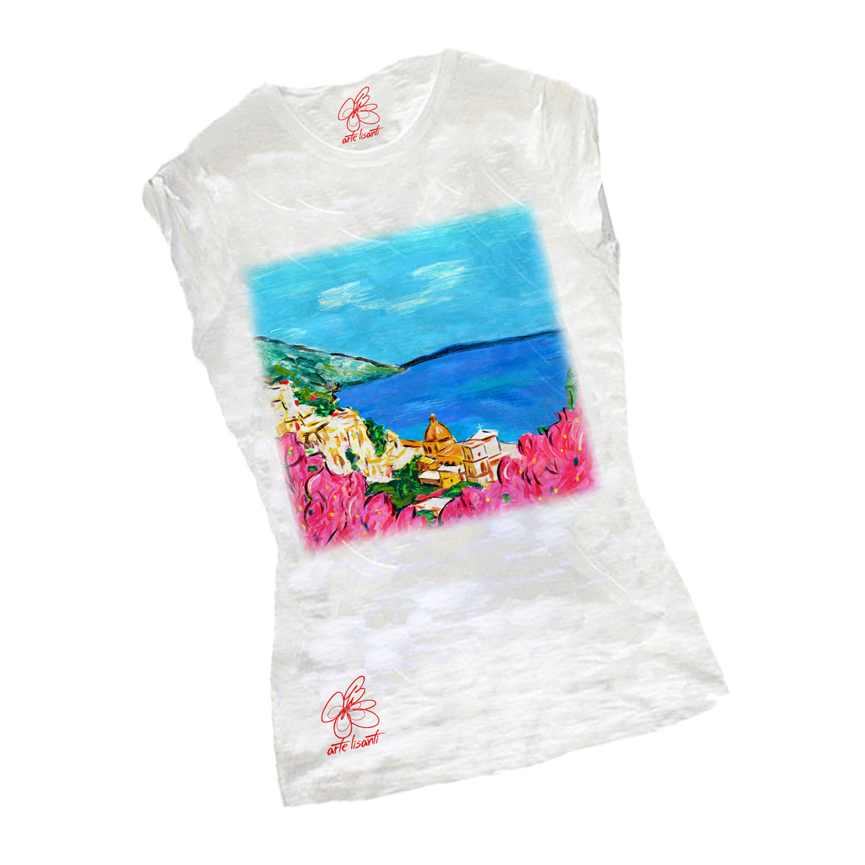 Hand-painted T-shirts - Amalfi