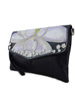 Hand painted bag - Magnolia