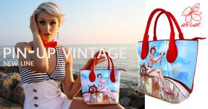 Borsa dipinta a mano – Sailor girl