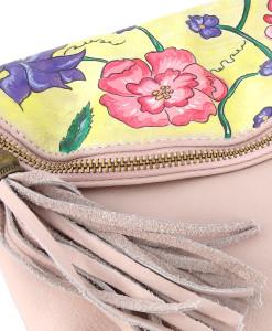 Hand painted bag - Charme
