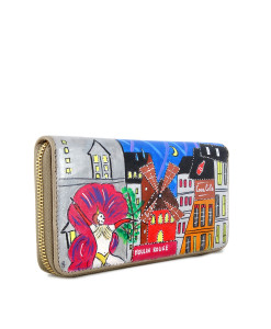 Portafoglio dipinto a mano – Moulin Rouge