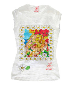 Hand-painted T-shirts - Positano