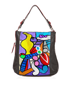 Handpainted bag - Nude with still life by Picasso