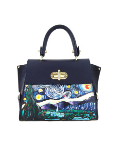 Hand-painted bag - The Starry Night by Van Gogh