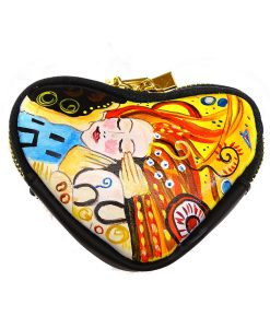 Coin Purse - Homage to lover Kiss by Sophie Vogel