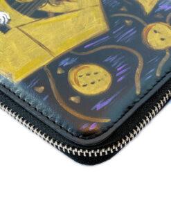 Portafoglio dipinto a mano – La musica di Klimt
