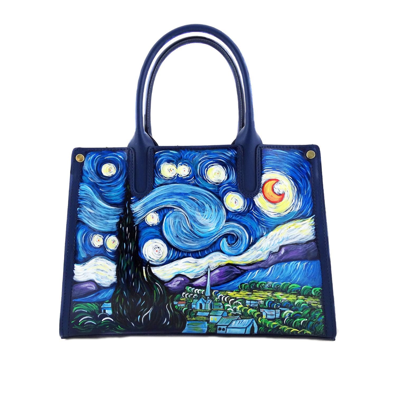 Stellata Gogh Notte Portachiavi Dipinto – Di Mano La A Van 1JcFTlK3