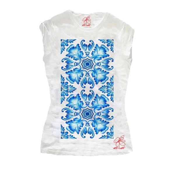 T-shirt dipinta a mano - Talavera