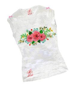 T-shirt dipinta a mano – Le chic