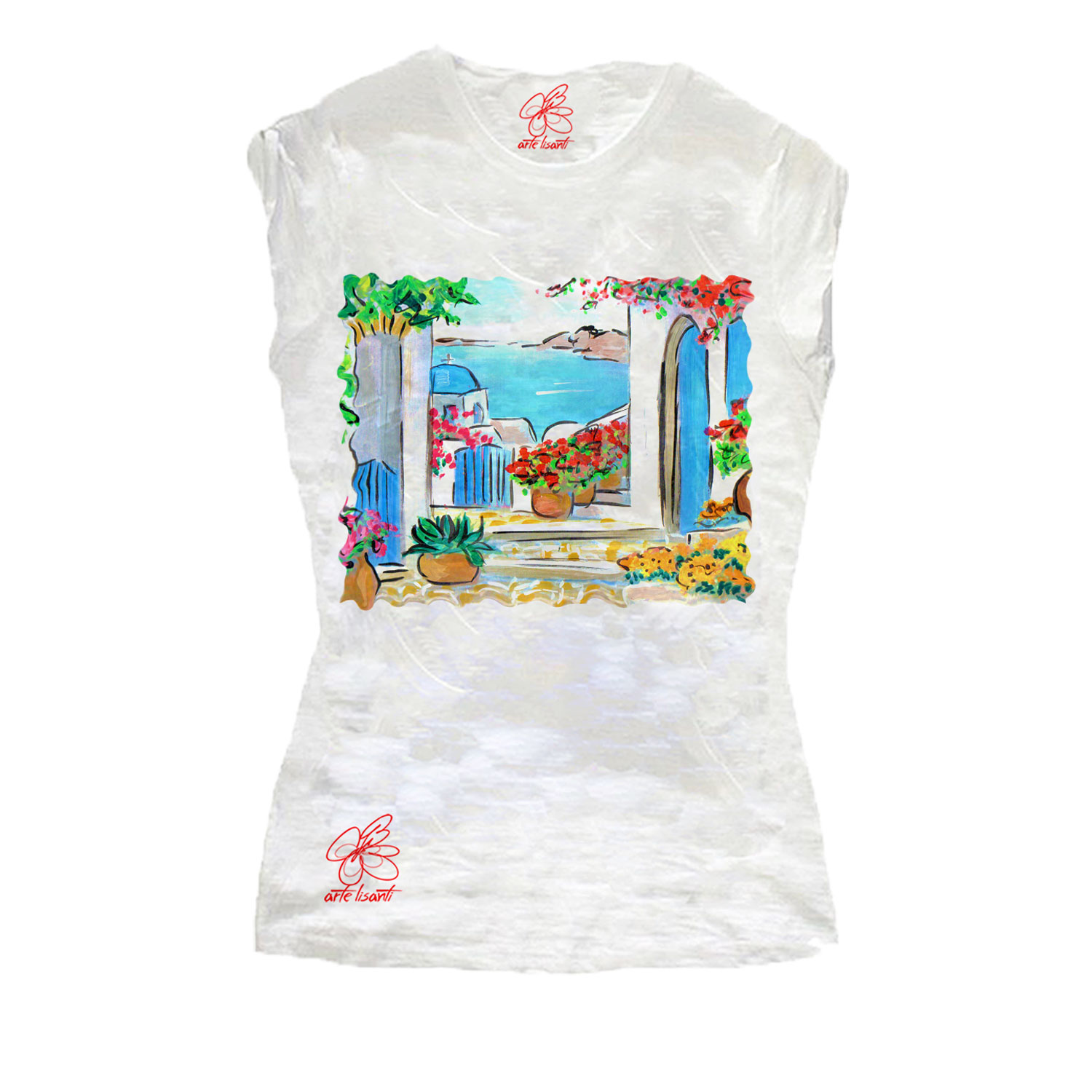 Hand-painted T-shirts - Greece